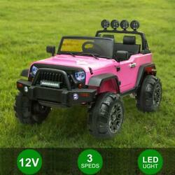 Kyпить 12V Kids Ride on Electric Off-Road Vehicle Truck 2.4G Remote Control LED Toy Car на еВаy.соm