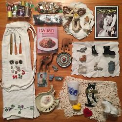Kyпить Vintage Junk Drawer Lot Good Stuff Wow !! на еВаy.соm