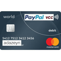 Kyпить VCC Virtual Credit Card for PayPal Verification Work Worldwide Fast Delivery на еВаy.соm