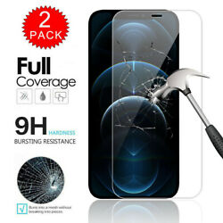 Kyпить For iPhone 12 / Pro / Max/ 12 Pro Max Full Cover Tempered Glass Screen Protector на еВаy.соm