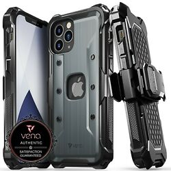 Kyпить Vena [vArmor] Shockproof Heavy Duty Holster Belt Clip Case for iPhone 12 Pro Max на еВаy.соm