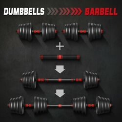 Kyпить 66LB Dumbells Pair Gym Weights Barbell Dumbbell Body Building Free Weight Set US на еВаy.соm