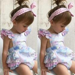 Kyпить New Sweet Baby Girls Floral Romper Jumpsuit Outfits на еВаy.соm