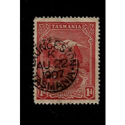 Kyпить 1907 Tasmania Australia Launceston SON Postmark Aug 22 1907 Stamp на еВаy.соm