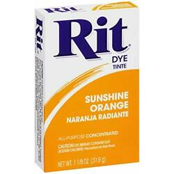 Kyпить Rit All-Purpose Powder Dye, Sunshine Orange - New- Free Shipping на еВаy.соm