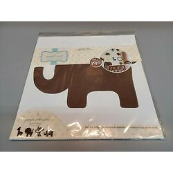Wall Pops WPSI98852 Brown Jungle Silhouettes Wall Art Decal Kit