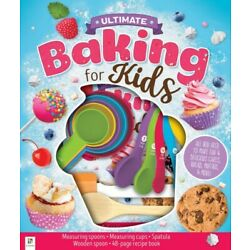 Kyпить Ultimate Baking for Kids with 48-page Cookbook and Measuring Spoons & Cups на еВаy.соm