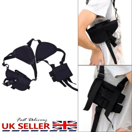 img-Military Tactical Shoulder Pistol Gun Holster Magazine Pouch Phone Bag Tool Belt