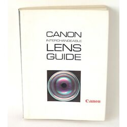 Kyпить Canon Interchangeable Lens Guide / Catalog 1968 : Rangefinder & SLR - very rare на еВаy.соm