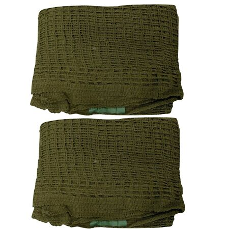 img-OLIVE SCRIM NET CAMO CAMOUFLAGE HEAD VEIL SCARF - British Army Issue , Brand NEW