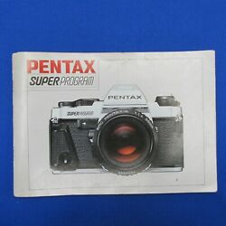 Kyпить Original Pentax Super Program Instruction Manual - Excellent with Free Shipping на еВаy.соm