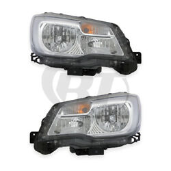 Kyпить Halogen Headlights Front Lamps for 17-18 Subaru Forester Left & Right Pair Set на еВаy.соm
