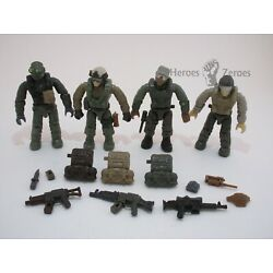 Kyпить Call of Duty COD Mega Bloks #06875 Jungle Troopers - Lot 4x Soldiers Figures на еВаy.соm