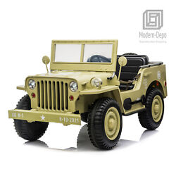 Kyпить 3 Seaters Kids Ride On Truck with Remote Control Military Vehicle Car Toy на еВаy.соm