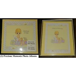 Kyпить NEW Lot of 2 Photo Albums Precious Moments/Hallmark Unisex Baby Shower Gift HTF на еВаy.соm