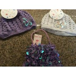 Kyпить Crocheted Baby Hats and Purse With Tags  на еВаy.соm