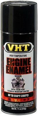 VHT SP124 Gloss Black Spray Paint Auto Car High Temp ENGINE Enamel 550°F
