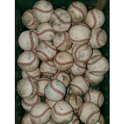 Kyпить (20) MLB Major League Used Baseballs lot Rawlings Manfred balls на еВаy.соm