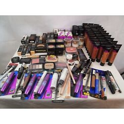 Kyпить Wholesale Mixed Makeup Lot NYX Maybelline L'Oreal Covergirl 100+ Pieces  на еВаy.соm