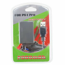 2000mah Replacement Battery (GENCA-032) for Sony PS4 Pro Game Controller PS4 Pro