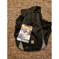 KURGO NORTH COUNTRY WATER PROOF DOG COAT JACKET FLEECE LINED SAFETY LED LIGHTS