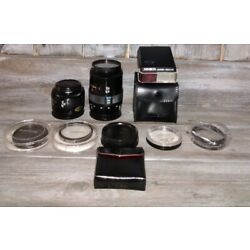 Kyпить Lot Of 2 Minolta Lenses And Other Accessories See Pictures Great LOT на еВаy.соm