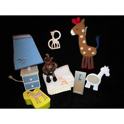 Kyпить GIRAFFE NURSERY ACCESSORIES SET lamp blanket frame stuffy trinket box BABYS ROOM на еВаy.соm