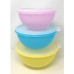 Kyпить Tupperware Wonderlier Bowls Set Of 3 NEW на еВаy.соm