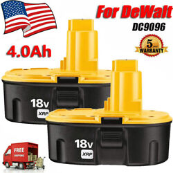 Kyпить 2-Pack 18 Volt for Dewalt XRP Battery DC9096-2 DC9098 DC9099 DW9096 DC9096 US на еВаy.соm