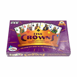 Set Enterprises Five Crowns 5 Suited Rummy Style Card Game 10 Best Game Awards