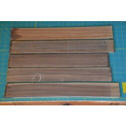 Kyпить Pau Ferro guitar finger board blank fretboard 2.75x20'' lot of 5 luthier builder на еВаy.соm