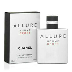 Kyпить CHANEL ALLURE HOMME SPORT Cologne 3.4oz / 100ml EDT Spray NEW IN BOX SEALED на еВаy.соm