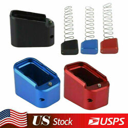 Kyпить For Glock 19/23 G19 G17, 22, 34, 35 +3 +4 Magazine Extension Base Pad W/ Spring на еВаy.соm
