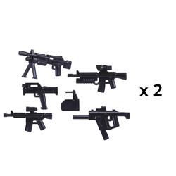 10 Piece Weapon Guns Pack For Lego Military Figures