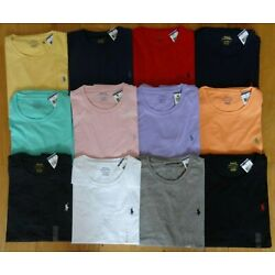 Kyпить Polo Ralph Lauren Mens Classic Fit T Shirt  Brand New With Tag CREW NECK  Tee  на еВаy.соm