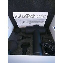 Kyпить NordicTrack®  PulseTech Percussion Therapy Massage Gun with 6 Massage Heads  на еВаy.соm