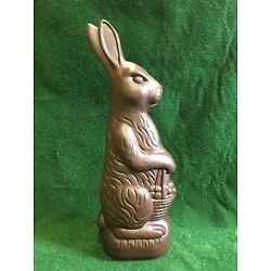 "Kyпить Blow Mold Huge Chocolate Plastic Rabbit 31"" Union Products Don Featherstone 1993 на еВаy.соm"
