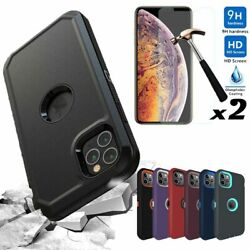 Kyпить For iPhone 12 Pro/12/11 Pro Max Case Rugged Armor Phone Cover+Screen Protector на еВаy.соm
