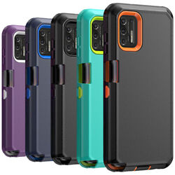 Kyпить For Motorola Moto G Stylus/G Play/G Power 2020/2021 Case Shockproof Rugged Cover на еВаy.соm