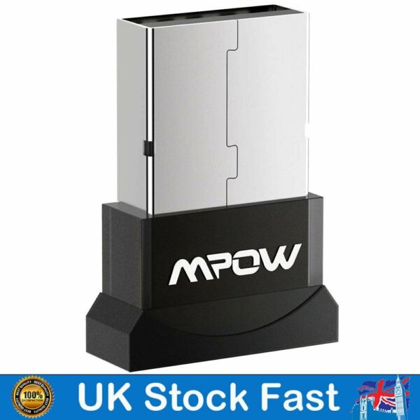 Southsea,United KingdomMpow 2 in 1 Bluetooth Dongle Adapter Wireless CSR  Mini for Win 10 Laptop PC
