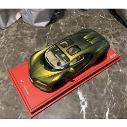 1/18 MR Bugatti Chiron Sky view Chameleon Gold Green 1 Of 3 N BBR Frontiart D&G