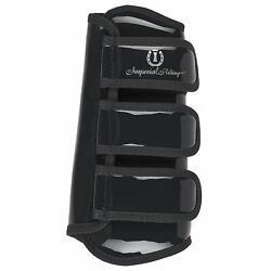 Imperial Riding Love Your Life Dresage Tendon Boots Horse Boot - Black Laquer
