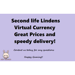 Kyпить Second Life Lindens - Cheap virtual In game currency Great Prices Fastest Deliv на еВаy.соm