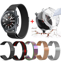 Kyпить For Samsung Galaxy Watch Active 2 40 44mm Screen Protector Case+Milanese Band на еВаy.соm