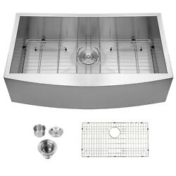 Kyпить 36x20 Inch Stainless Steel Farmhouse Kitchen Sink Apron Front Sink Single Bowl на еВаy.соm