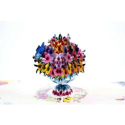 Kyпить Flower Bouquet Pop Up , Mother's day Pop Up 3D Greeting Card, For Mothers Days,  на еВаy.соm