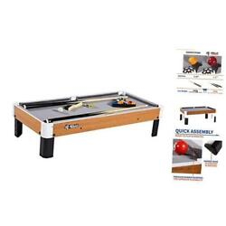 "Kyпить  Tabletop Pool Table Set and Accessories, 40"" x 20"" Gray/Wood Brown/White/Black на еВаy.соm"