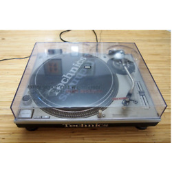 Kyпить Technics SL-1200MK3D Silver Direct Drive DJ Turntable from Japan Used на еВаy.соm