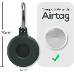 Kyпить Apple AirTag Silicone Case Cover for AirTags Location Tracker Sleeve Shell Skin на еВаy.соm
