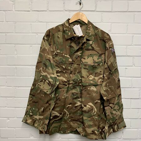 img-MTP CAMO FIRE RETARDANT COMBAT JACKET SHIRT - 180/104cm , British Army NEW